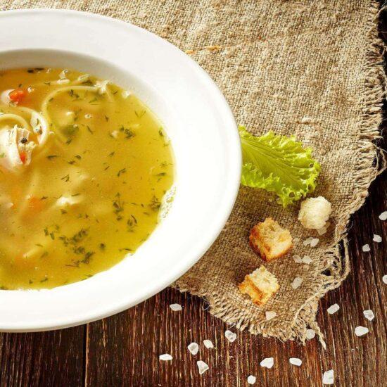 Куриный суп с лапшой Харьков